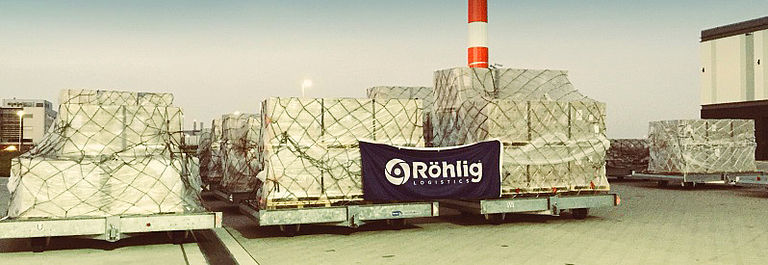 Rohlig air freight pallet